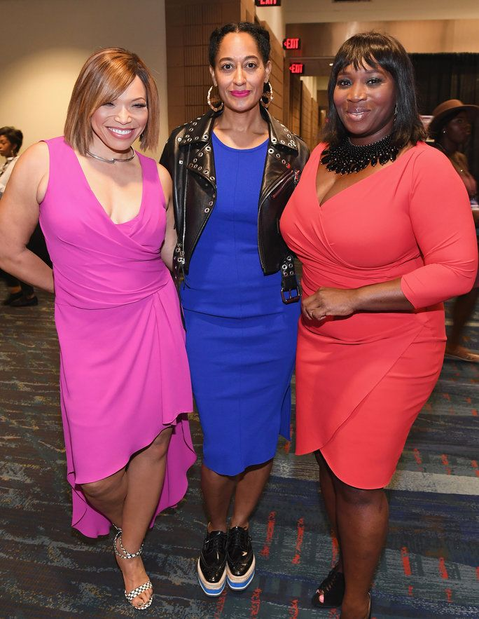 Tisha Campbell-Martin, Tracee Ellis Ross, and Bevy Smith