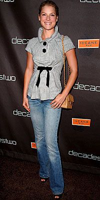 अली Larter, Balenciaga, Levi's, Chanel, Look of the Day, celebrity style, Best of 2007
