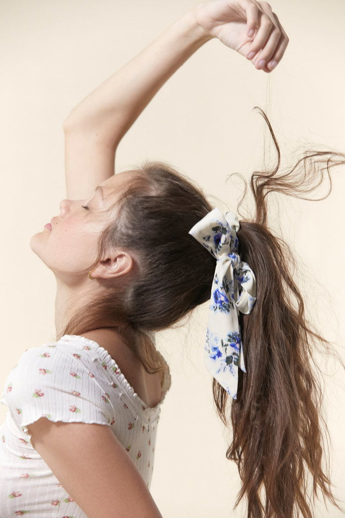 लौरा Ashley Bow Scrunchie