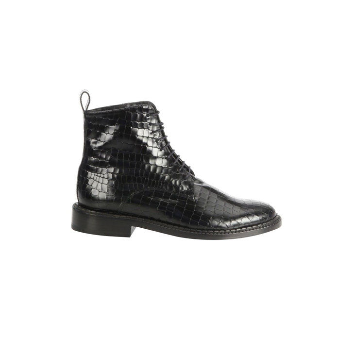 Jacen Leather Combat Boots
