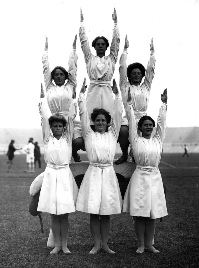 1908 London Olympics, Danish Gymnasts