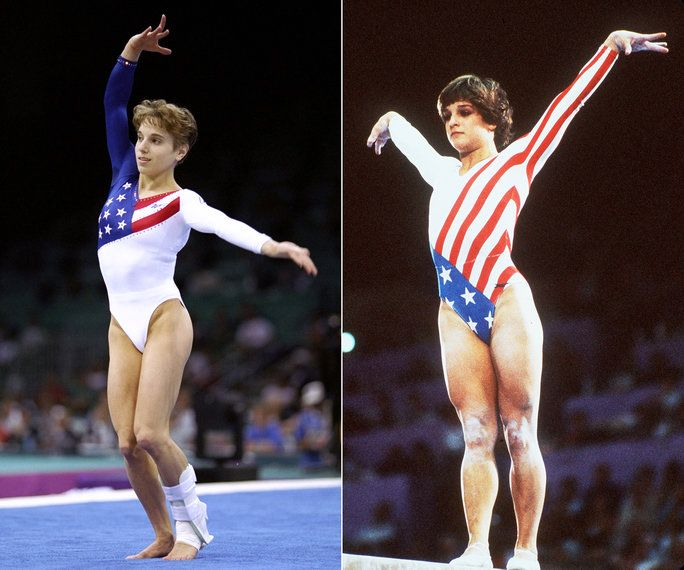 1984 Los Angeles Olympics, Mary Lou Retton & 1996 Atlanta Olympics, The Magnificent Seven, USA