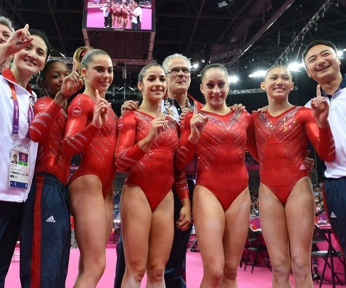 2012 London Olympics, The Fierce Five, USA