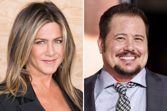 जेनिफर Aniston and Chaz Bono