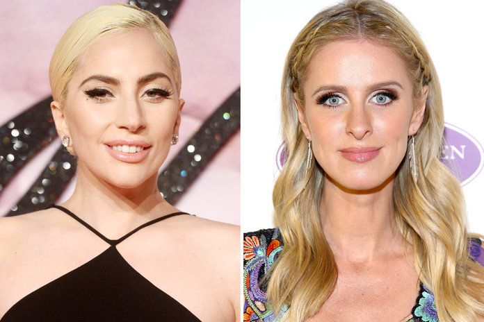 Lady Gaga and Nicky Hilton