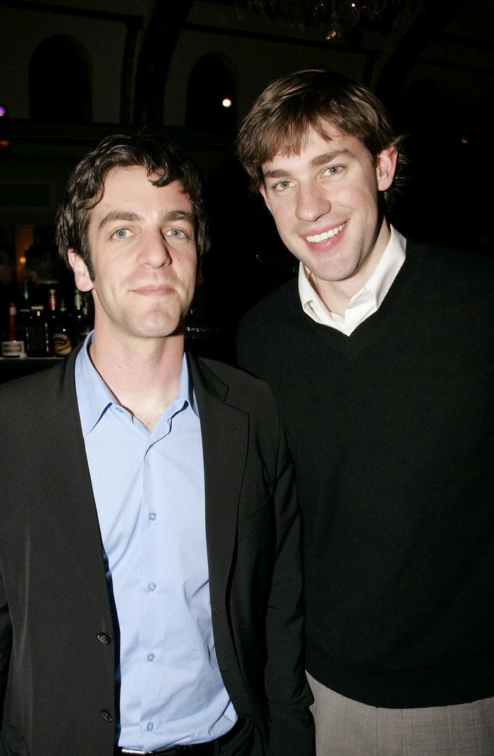 बी.जे. Novak and John Krasinski