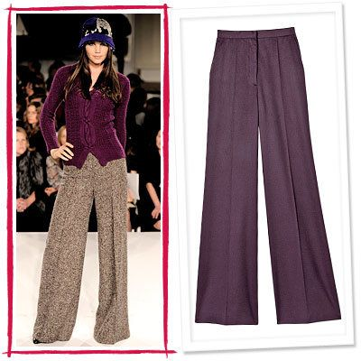 ऑस्कर de la Renta, Calvin Klein Collection, High-Waist Pants