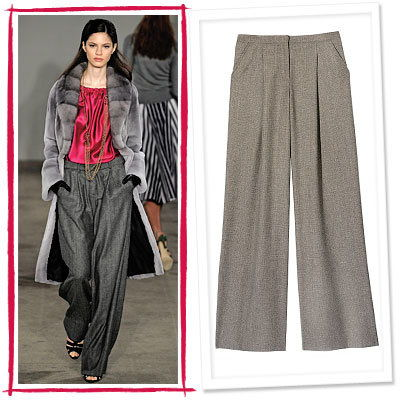 जेसन Wu, Sisley, Pleated Pants