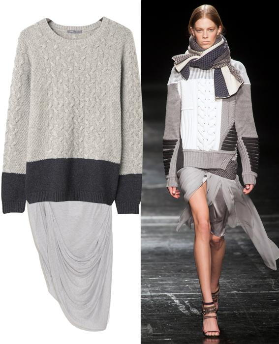 กระโปรง sweater combos: Prabal Gurung