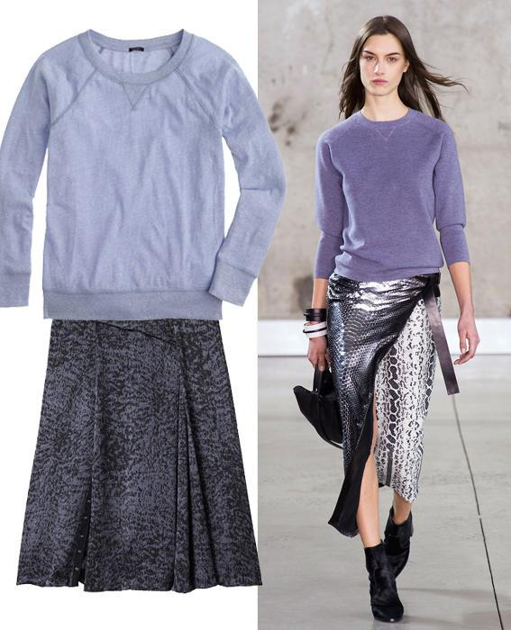 กระโปรง sweater combos: Reed Krakoff