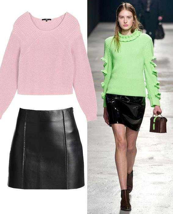 กระโปรง sweater combos: Christopher Kane