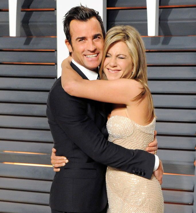 जेनिफर Aniston and Justin Theroux FEBRUARY 22 2015