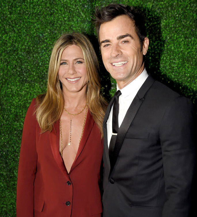 जेनिफर Aniston and Justin Theroux ANUARY 15 2015