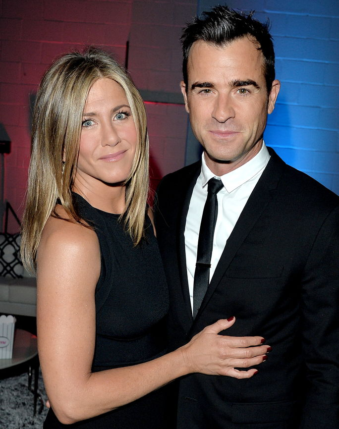 जेनिफर Aniston and Justin Theroux SEPTEMBER 8 2014