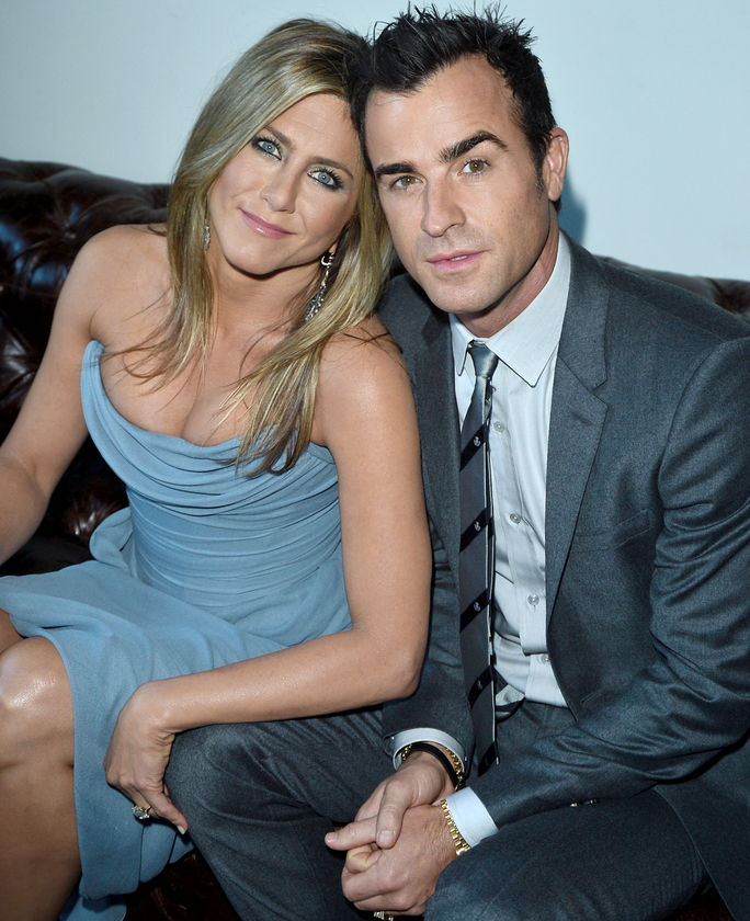 जेनिफर Aniston and Justin Theroux SEPTEMBER 14 2013