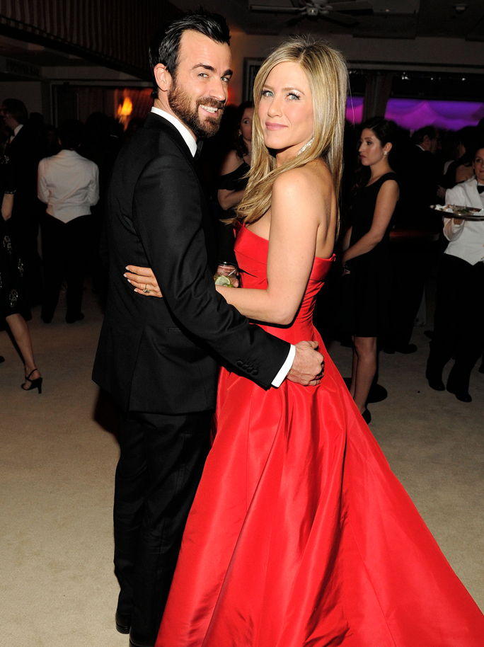 जेनिफर Aniston and Justin Theroux FEBRUARY 24 2013