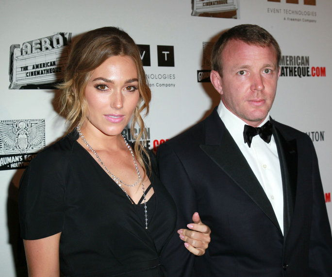 Jacqui Ainsley and Guy Ritchie