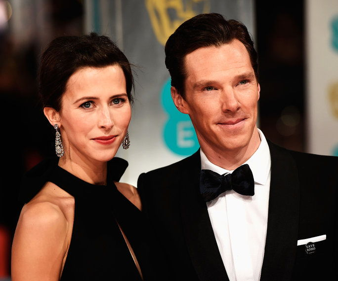 เบเนดิกต์ Cumberbatch and Sophie Hunter