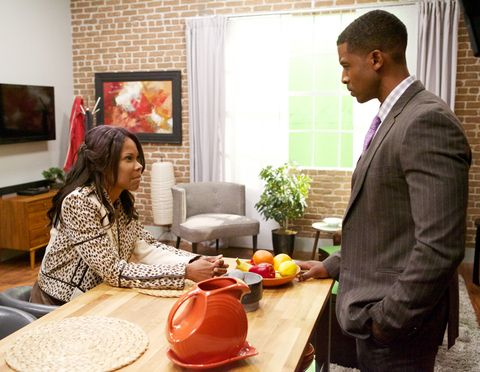 HAVES AND HAVE NOTS, (from left): Angela Robinson, Gavin Houston, 'A Southern Brawl', (Season
