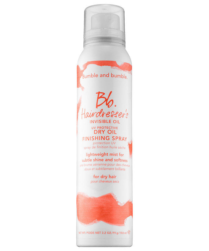 श्रेष्ठ for Wavy Hair: Bumble and bumble Hairdresser's Invisible Oil Dry Oil Finishing Spray