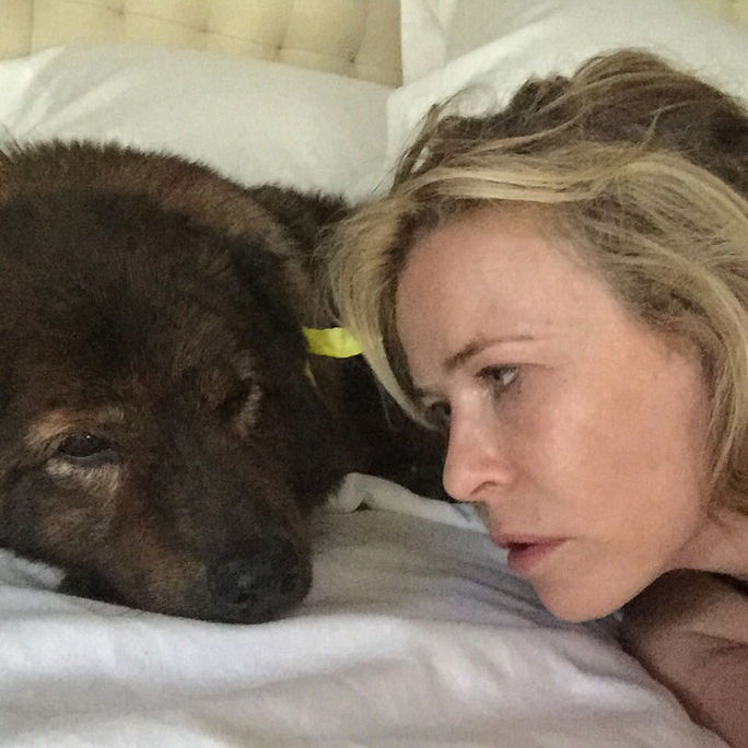 แทมมี่ and Chelsea Handler Instagram Picture