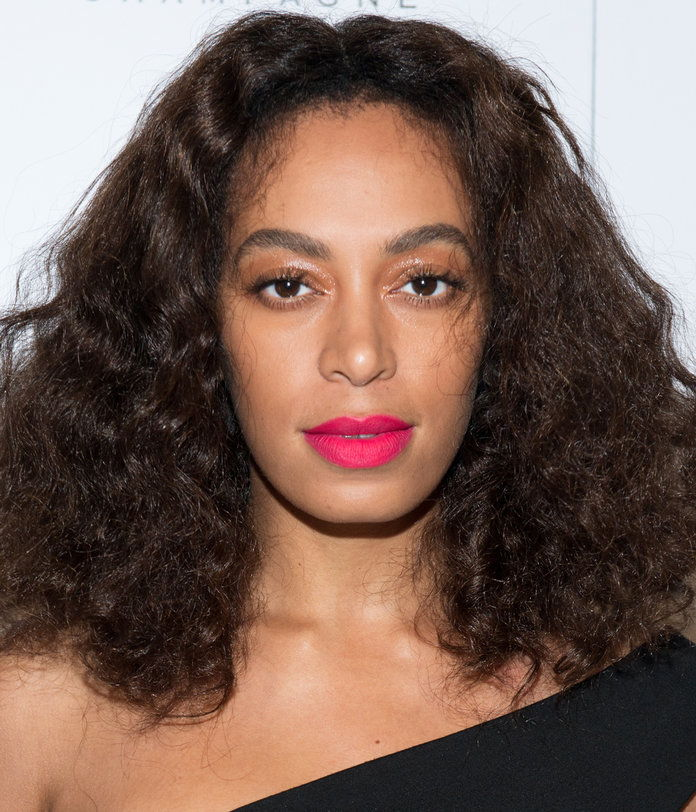Solange Knowles attends the Rimmel & Kate Moss Party