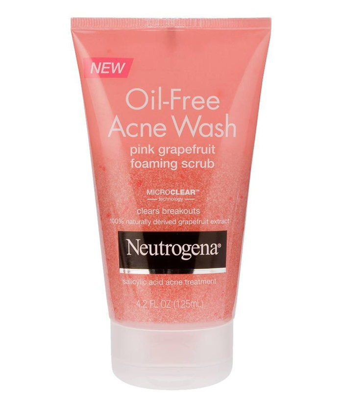 Neutrogena Oil-Free Acne Wash Pink Grapefruit Scrub