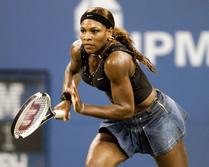 2004 US Open - Women's Singles - Quarter Finals - Serena Williams vs Jennifer Capriati