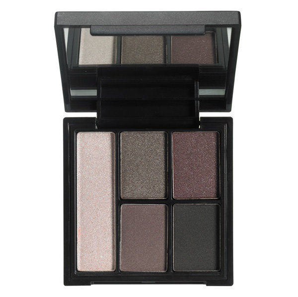 के लिये a flattering taste of plum: e.l.f clay Eyeshdow palette in Smoked to Perfection