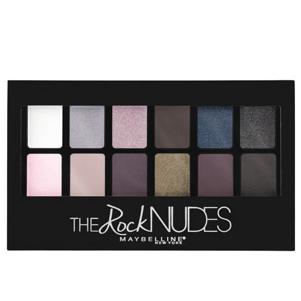 के लिये a jewel-toned version: Maybelline The Rock Nudes Palette