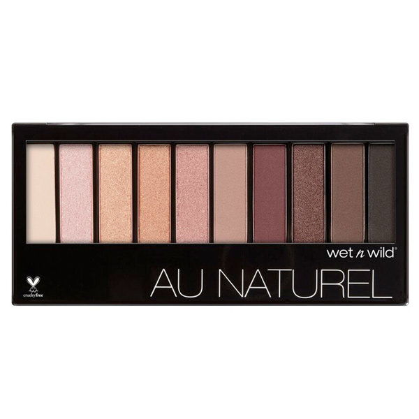 के लिये a romantic take on the trend: Wet 'n' Wild Au Natural Palette in Nude Awakening