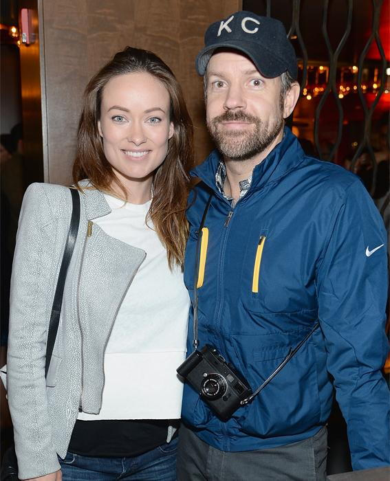 जेसन Sudeikis and Olivia Wilde
