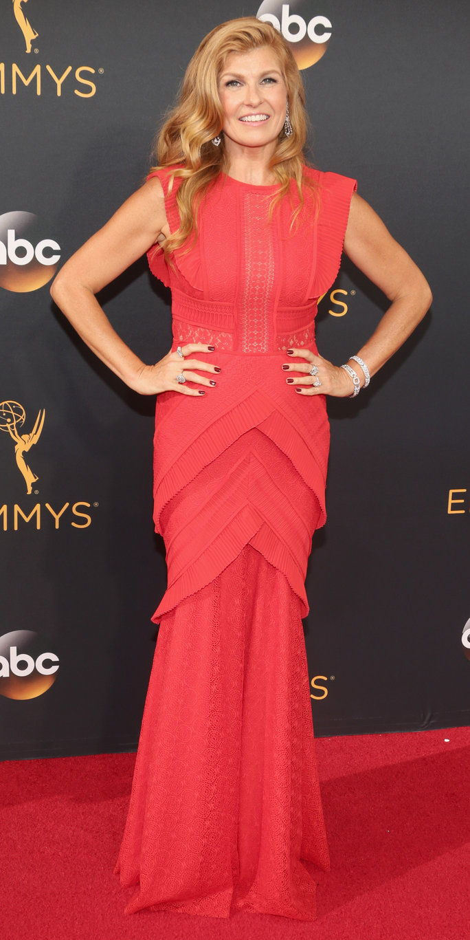 LOS ANGELES, CA - SEPTEMBER 18: Actress Connie Britton attends the 68th Annual Primetime Emmy Awards at Microsoft Theater on September 18, 2016 in Los Angeles, California. (Photo by Todd Williamson/Getty Images)