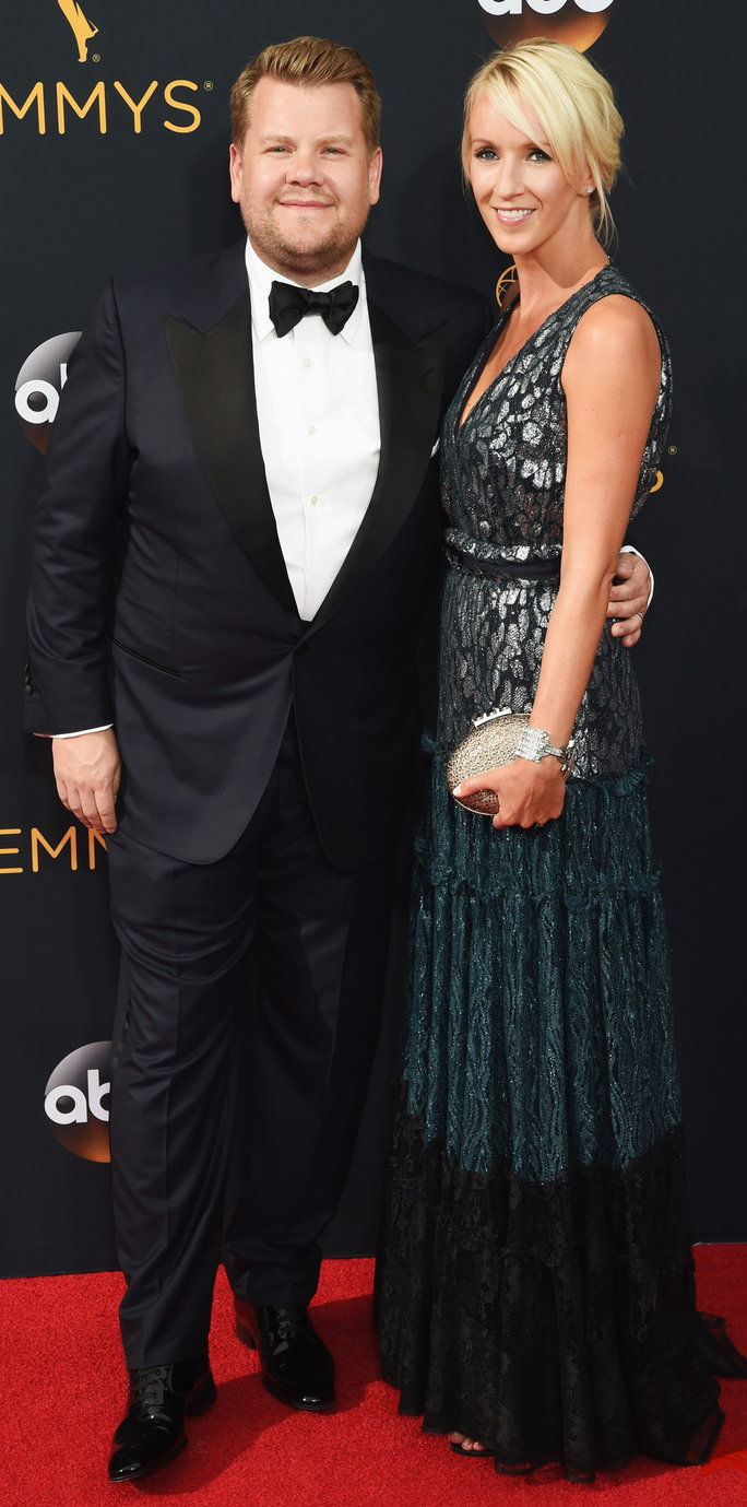 เจมส์ Corden and Julia Carey