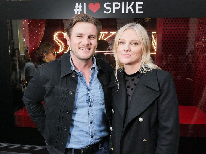 Brandon Borror-Chappell and InStyle Editor-in-Chief Laura Brown