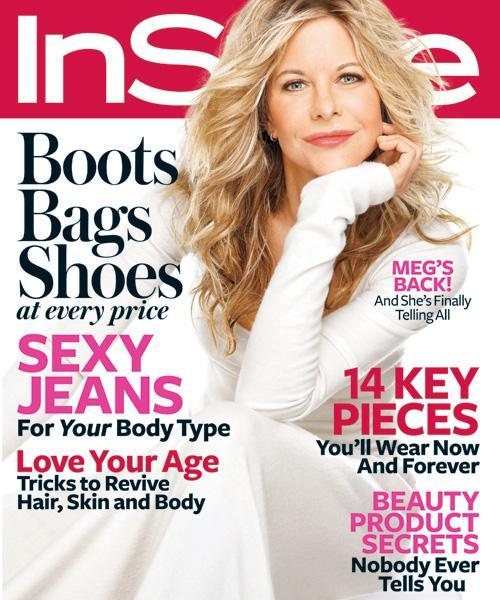 InStyle Covers - October 2008, Meg Ryan