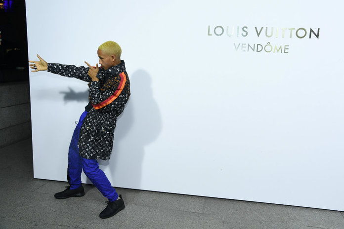Jaden Smith Louis Vuitton - EMBED