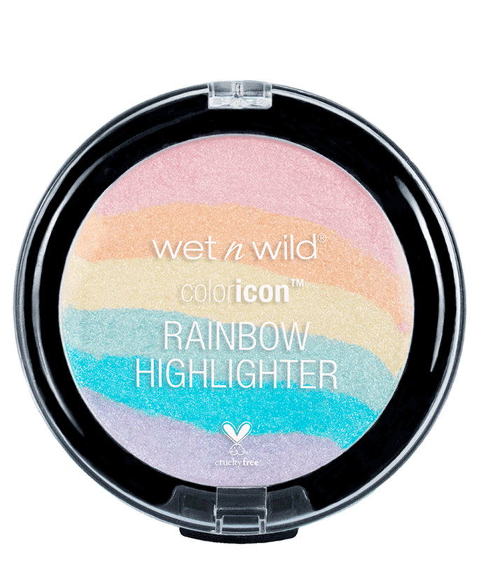 भीगा हुआ 'N' Wild Color Icon Rainbow Highlighter in Unicorn Glow
