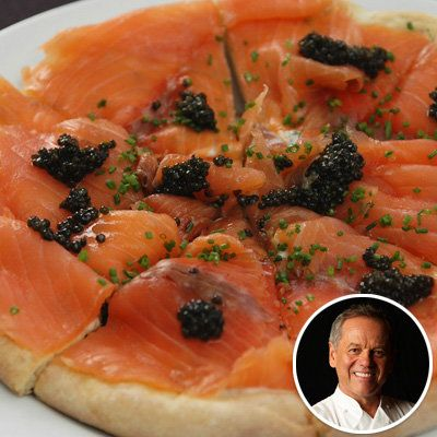 โวล์ฟกัง Puck - Pizza with Smoked Salmon - Holiday recipes