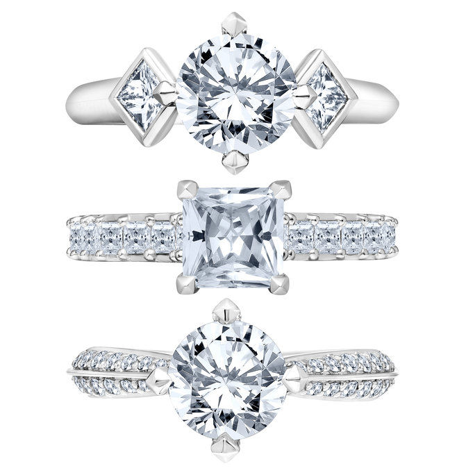 कार्ल Lagerfeld Engagement Rings - Embed 1