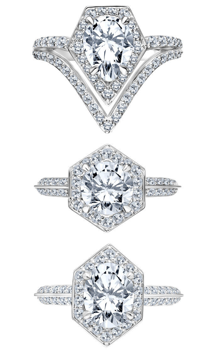 कार्ल Lagerfeld Engagement Rings - Embed 2