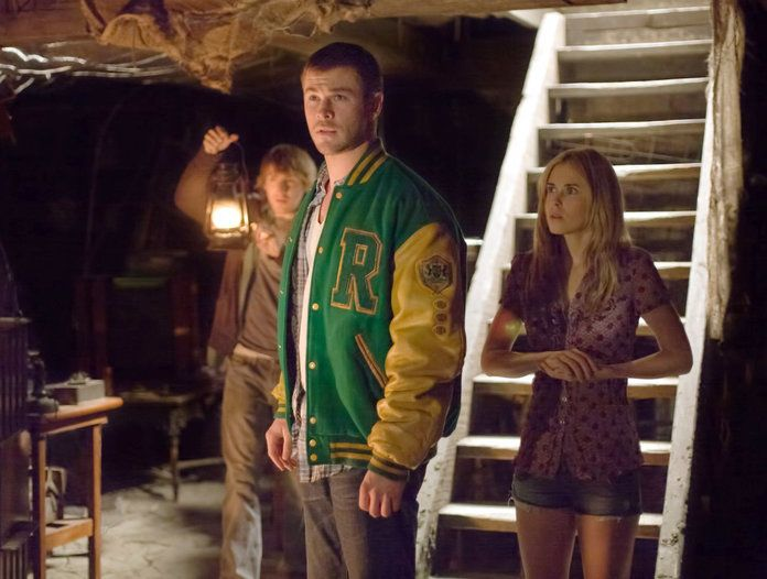 क्रिस Hemsworth in The Cabin in the Woods