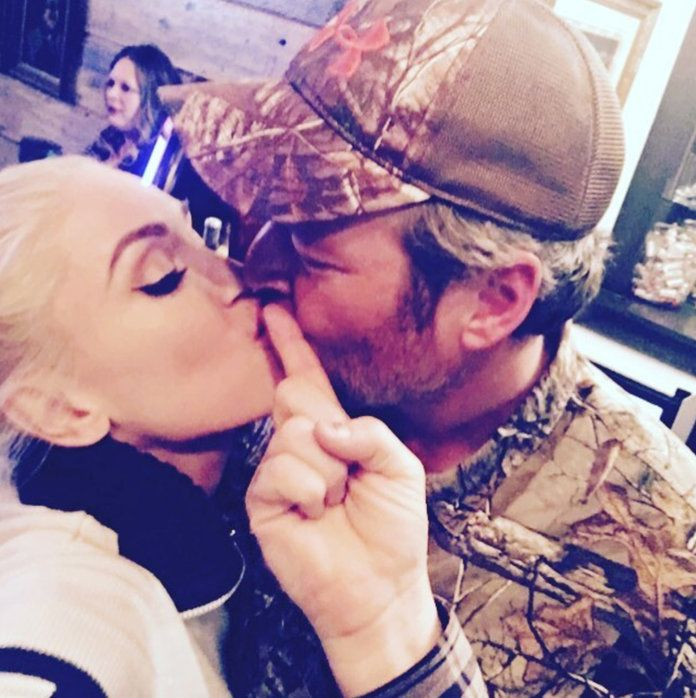 वेन Stefani and Blake Shelton