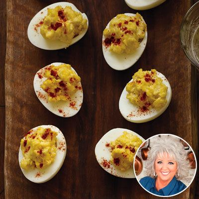 พอลล่า Deen - Deviled Eggs - Party Recipes