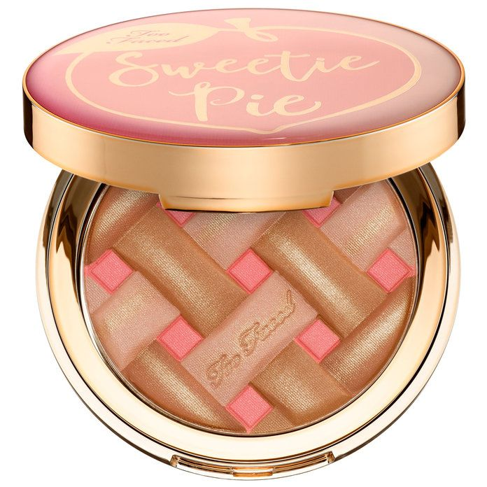 เกินไป Faced Sweetie Pie Radiant Matte Bronzer