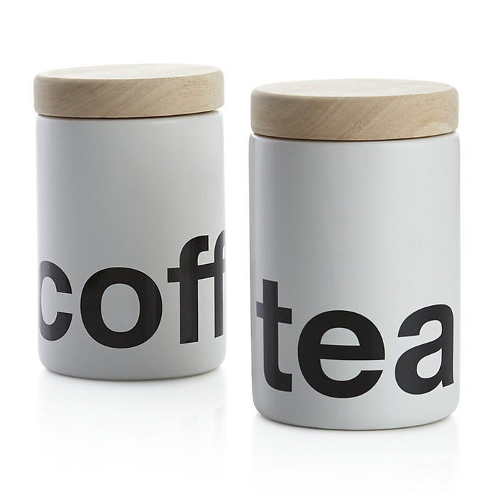 กาแฟ or Tea Canister