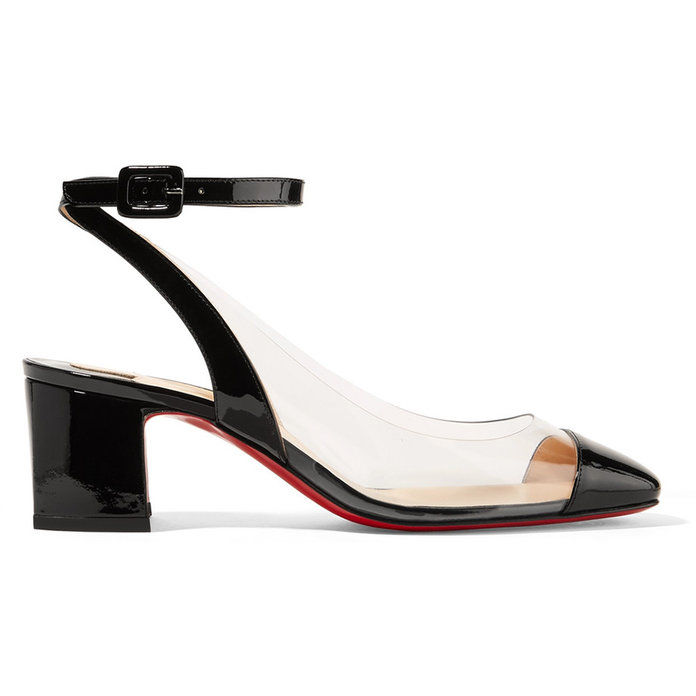 Asticocotte 55 Patent-Leather and PVC Pumps