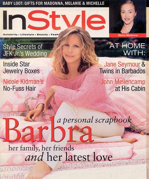 InStyle Covers - November 1996, Barbra Streisand