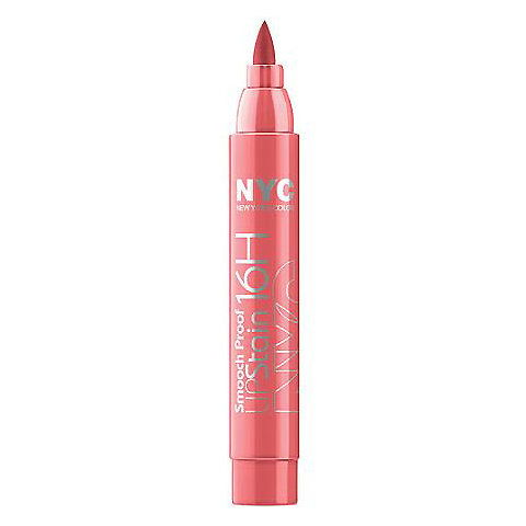 ใหม่ York Color Smooch-Proof 16HR Lip Stain in Endless Spice