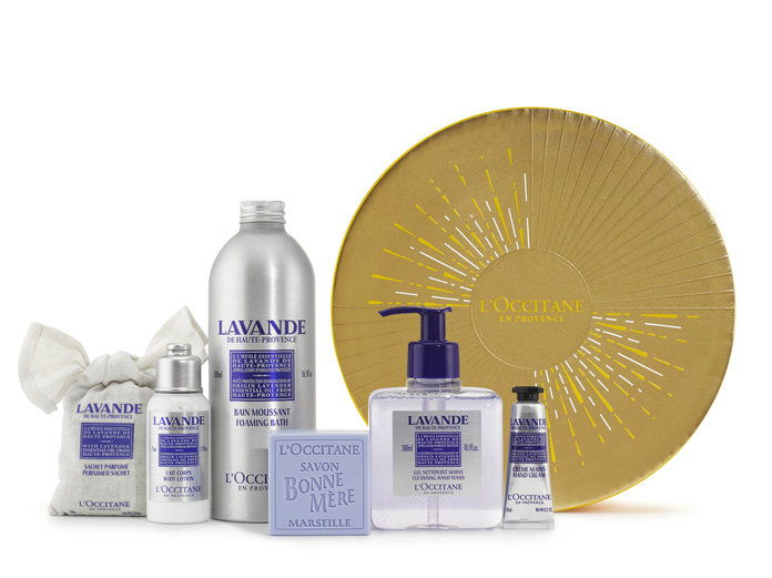 एल'Occitane Holiday Collection Lavender Set